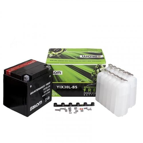 Аккумулятор ATOM YIX30L-BS MF 4011224 / 0445-115